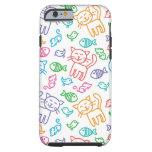 cat pattern tough iPhone 6 case