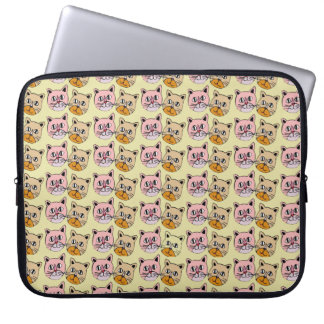 cat patterns computer sleeve