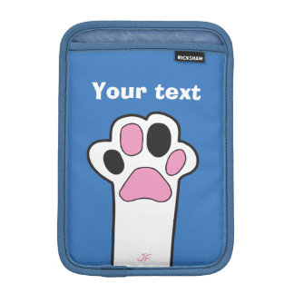 Cat paw iPad mini sleeve