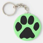 cat paw keychain