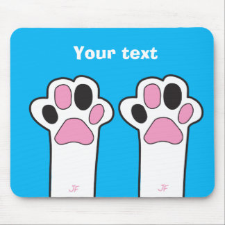 Cat paw mouse pad