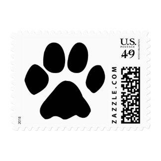 cat paw postage