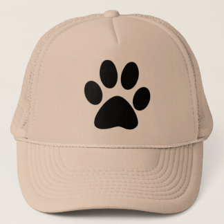 Cat Paw Print Trucker Hat