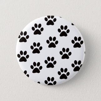 Cat Paw Prints Button