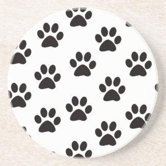 Cat Paw Prints Coasters
