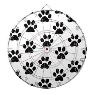Cat Paw Prints Dart Board
