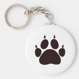 Cat Paw Prints Keychain