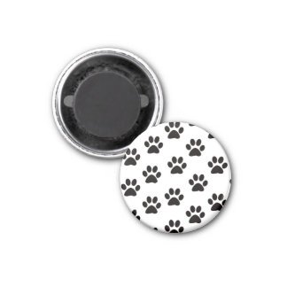 Cat Paw Prints Magnet