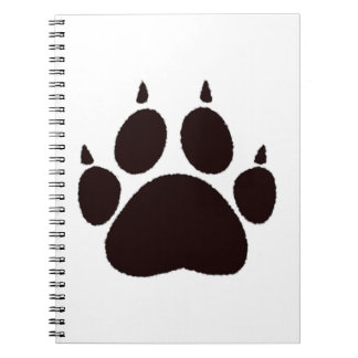 Cat Paw Prints Notebook