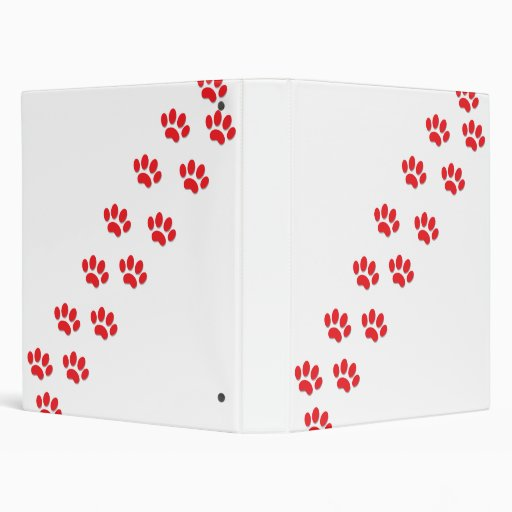 Cat Paws 3 Ring Binders