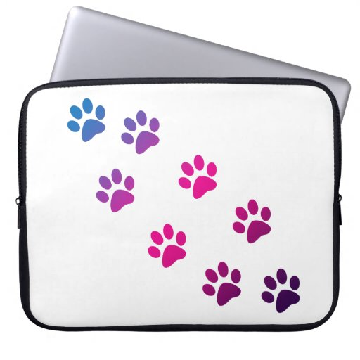 Cat Paws Computer Sleeves