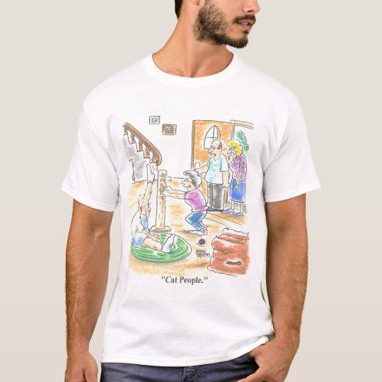 Cat People Color T-Shirt