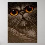 CAT PERSA de SMOKEY QUE PINTA 1 poster