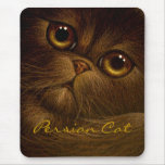 CAT PERSA Mousepad del CHOCOLATE Tapetes De Ratones
