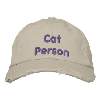Cat Person - Funny Baseball Hat