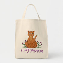 Cat Person - Happy Cat Tote Bag