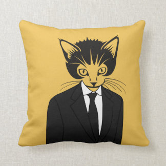 Cat Person Pillow
