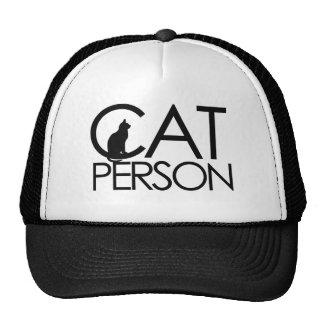 Cat Person Trucker Hat