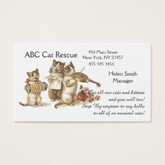 CAT/PET ADOPTION BUSINESS CARD