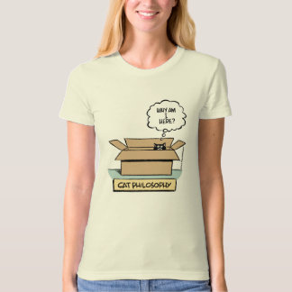 Cat Philosophy - Ladies Organic T-Shirt (Fitted)