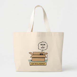 Cat Philosophy Tote Bag
