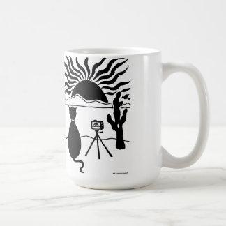 Cat Photographer Southwest Classic White Coffee Mug