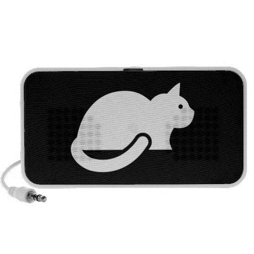 Cat Pictogram Doodle Speaker