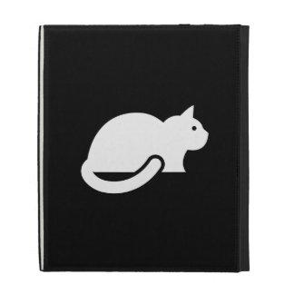 Cat Pictogram iPad Caseable Folio iPad Folio Cover