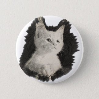 Cat Pinback Button