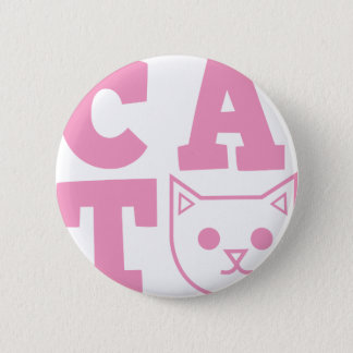 CAT pink Button