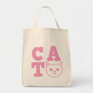 CAT pink Tote Bag