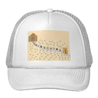 Cat Piper Trucker Hat