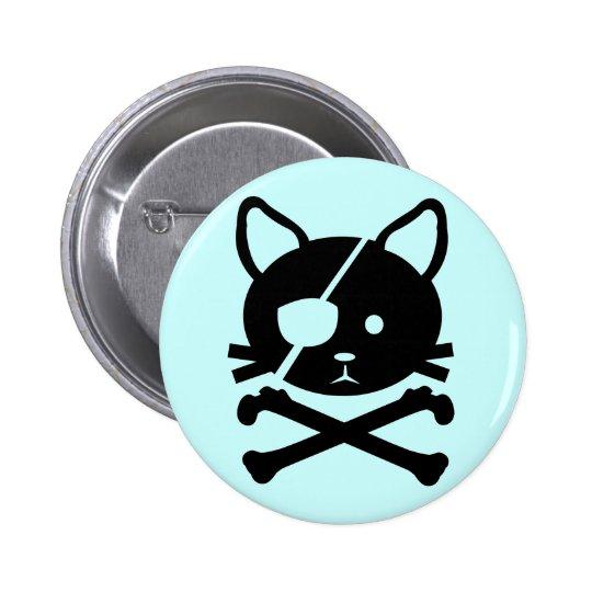 Cat Pirate Button