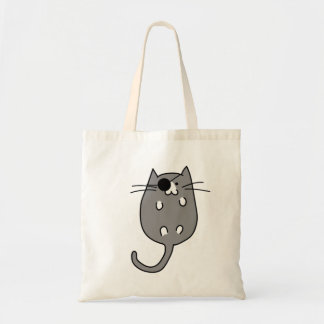 Cat Pirate Costume Trick or Treat Bag