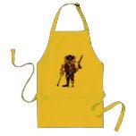 Cat pirate funny apron