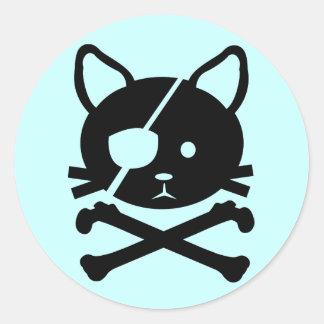 Cat Pirate Sticker