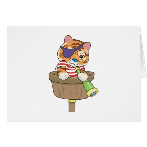 Cat Pirate T-shirts and Gifts Card