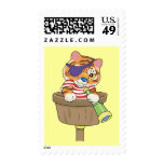 Cat Pirate T-shirts and Gifts Postage Stamps