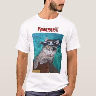 Cat Pirate Talk t-shirt