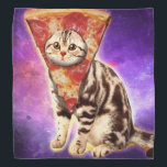 "Cat pizza - cat space - cat memes bandana<br><div class=""desc"">pet , pizza , cat , &quot;cute cats&quot; , &quot;funny cats&quot; , &quot;space cat&quot; , &quot;crazy cat&quot; , &quot;pizza cat&quot;, &quot;cat lovers&quot; , &quot;cats in space &quot;</div>"