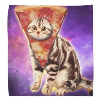 Cat pizza - cat space - cat memes bandana