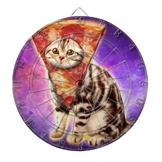 Cat pizza - cat space - cat memes dartboard
