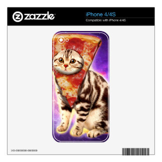 Cat pizza - cat space - cat memes skins for iPhone 4