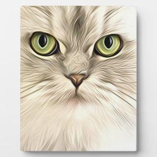 Cat Plaque
