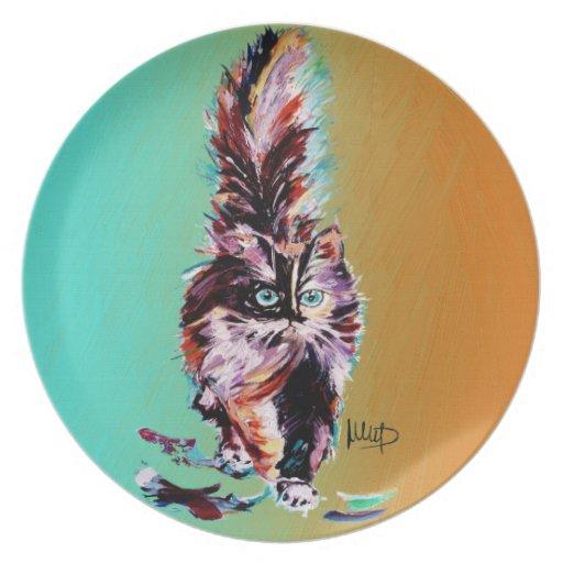 CAT PLATO DE CENA