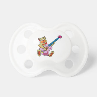 cat playing purple bass.png pacifier