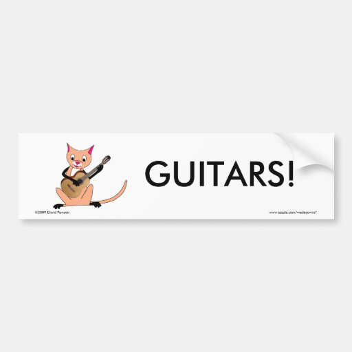 how to get stickers off a guitar