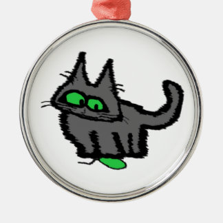 Cat Playing With A Mouse Toy Ornament