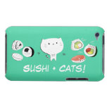 Cat plus Sushi equals Cuteness! Barely There iPod Cases