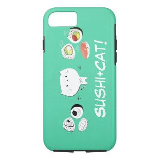 Cat plus Sushi equals Cuteness! iPhone 7 Case